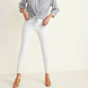 ON White Super Skinny Ankle Jeans 2 Long